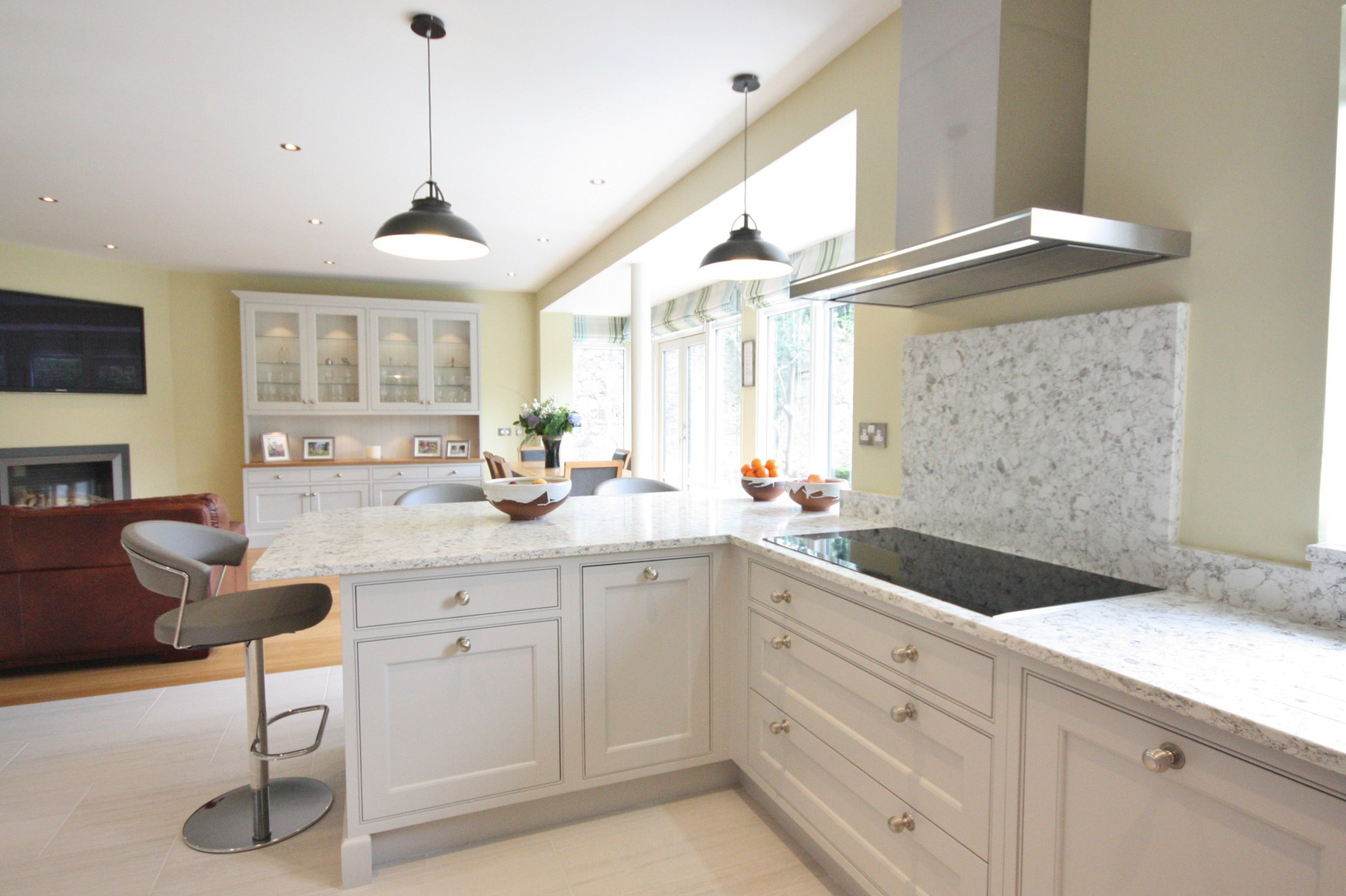 Enigma Design Dm Inframe Hand Painted Bespoke Kitchen