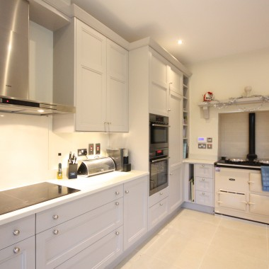 Stepped Shaker Bespoke Kitchen Design 5