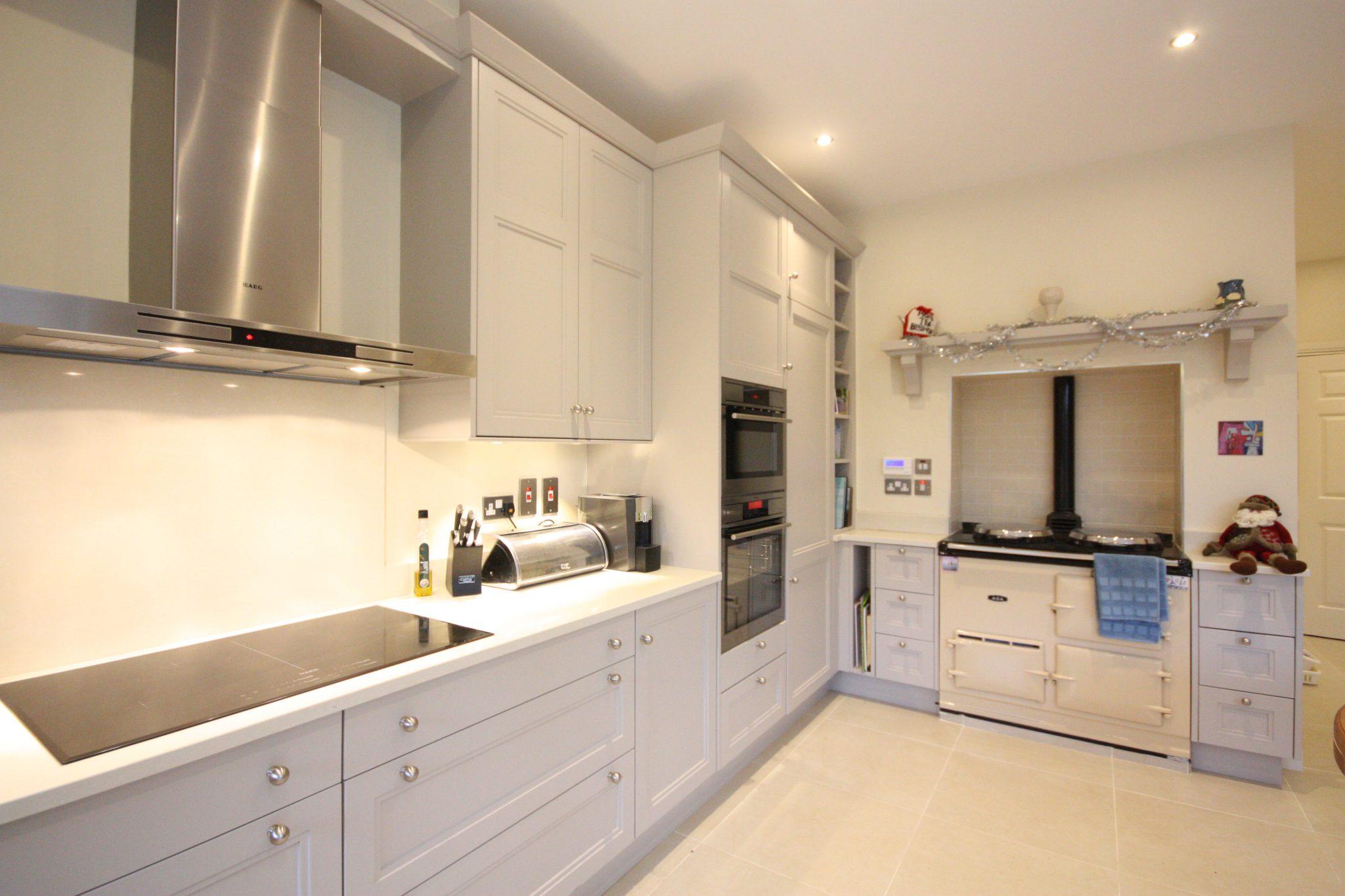 Enigma design stepped shaker bespoke kitchen design 5 for Kitchen design ireland