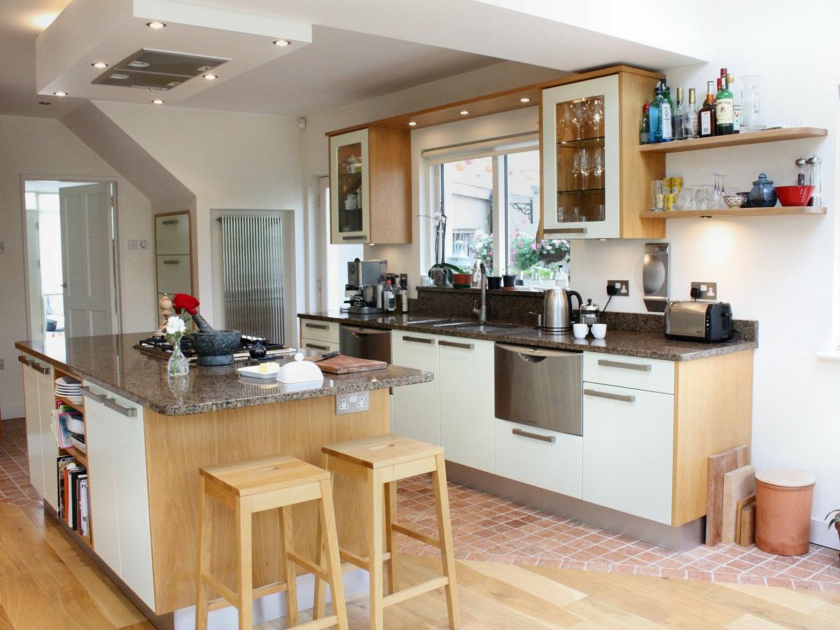 Enigma Design Green And Oak Custom Made Kitchen Dublin Wicklow 2