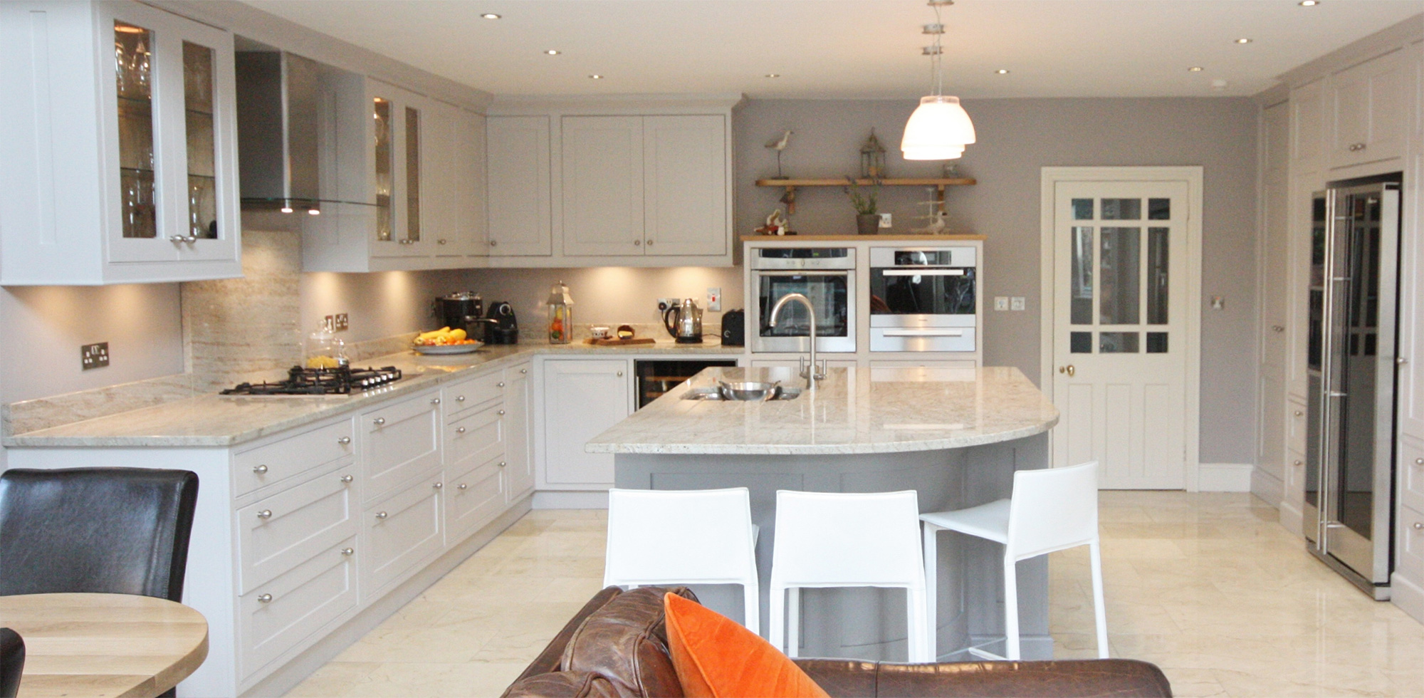 Enigma design lipizzaner grey kitchen design wicklow - Grey kitchen design pictures ...