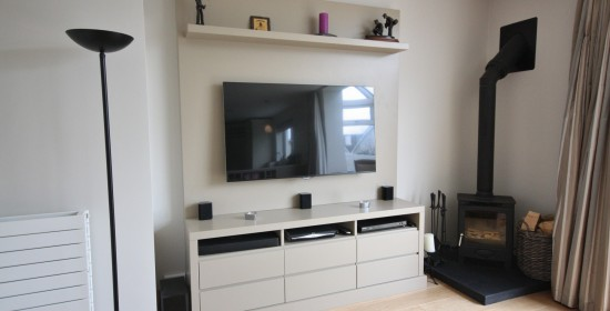 Bespoke TV unit contemporary enigma design 5