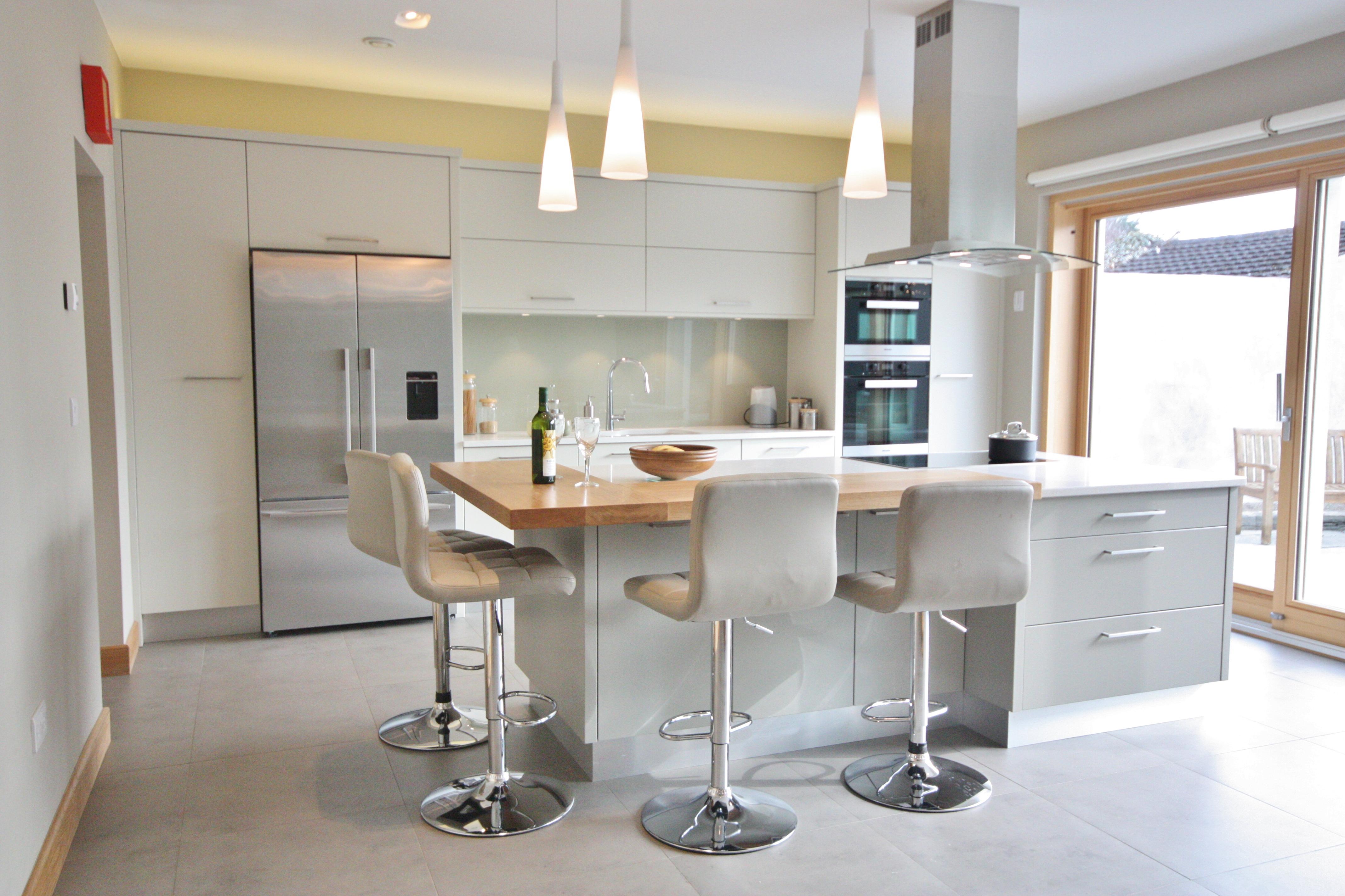 enigma design » modern flat panel kitchen