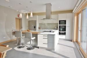 modern flat panel kitchen bespoke enigma design wicklow 2