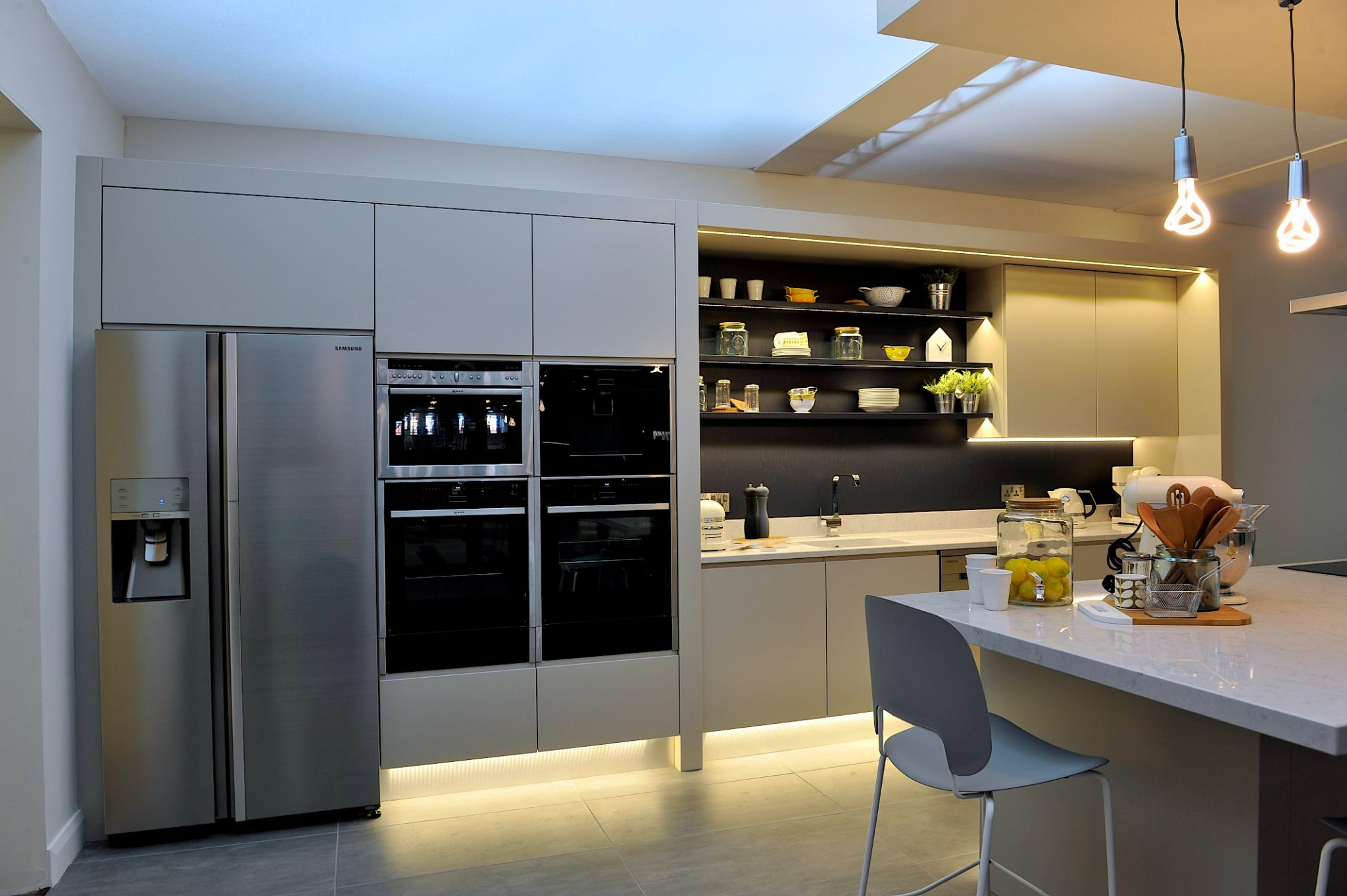 Enigma design ideal home show house kitchen enigma design 3 - Kitchen design expo ...