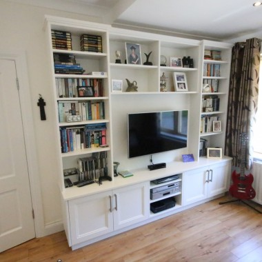 TV unit enigma design bespoke cabinetry