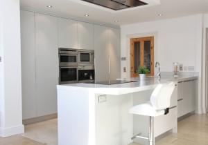 Contemporary flat panel kitchen design 10