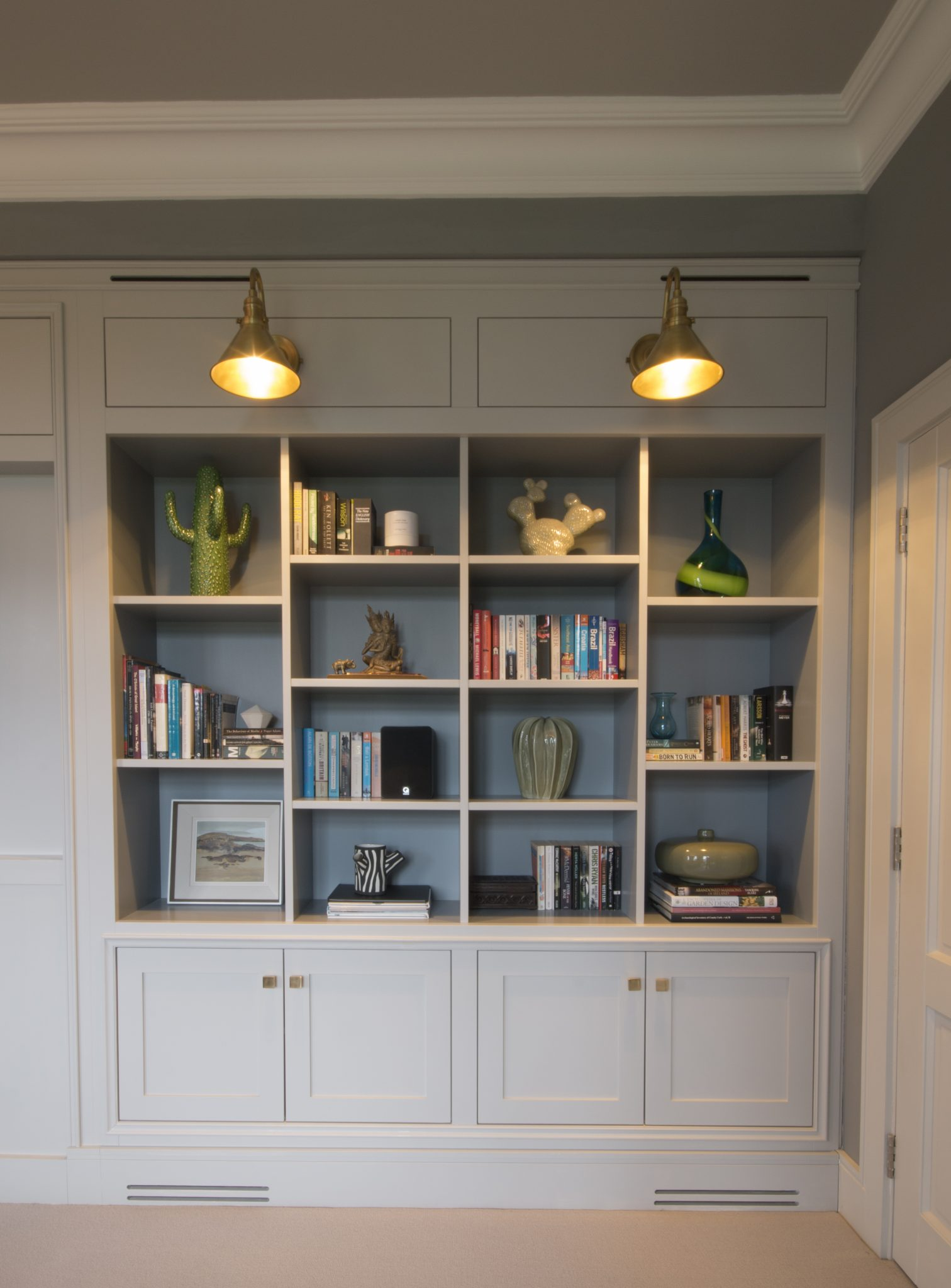 Enigma Design 187 Bespoke Built In Bookcase