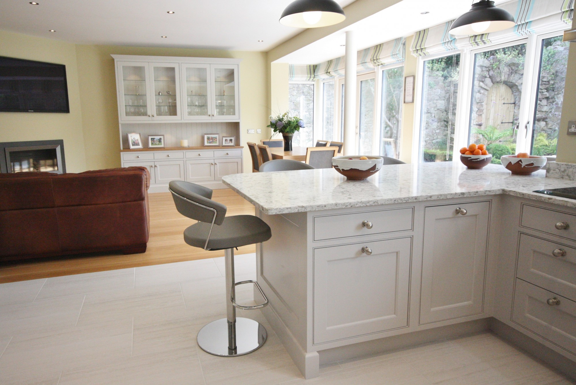 kitchen design wicklow enigma design 187 dm inframe painted bespoke kitchen 429
