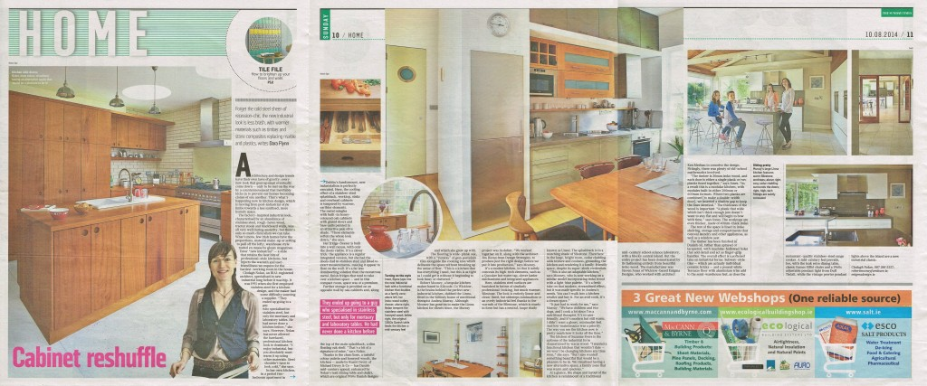 Enigma Design - Sunday Times Home Feature - Copy