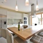 modern flat panel kitchen bespoke enigma design wicklow 3